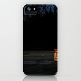 The Ice Be Thin iPhone Case
