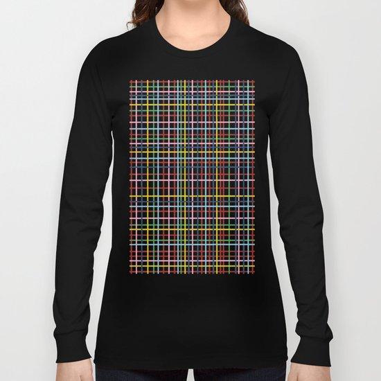 Rainbow Weave Long Sleeve T-shirt