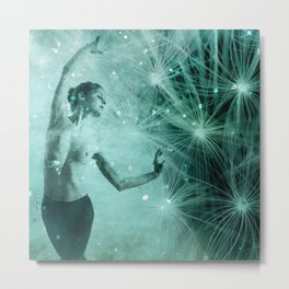 The dream dance Metal Print