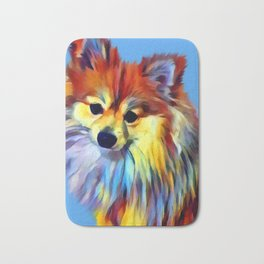 Pomeranian Bath Mat