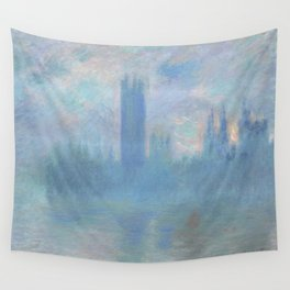 Monet, The Houses of Parliament, London, 1900-1093 Wall Tapestry
