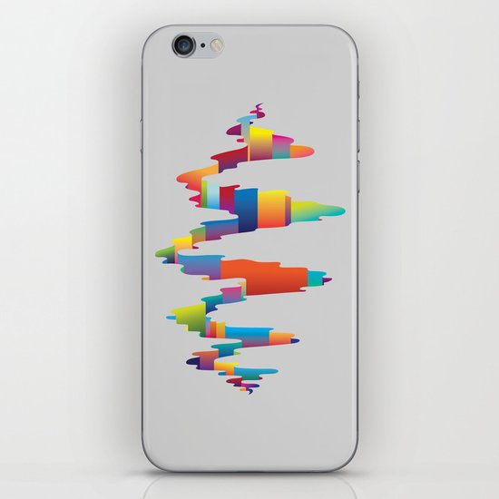 After the earthquake iPhone & iPod Skin