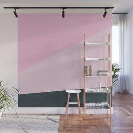 Geometry Pink Wall Mural