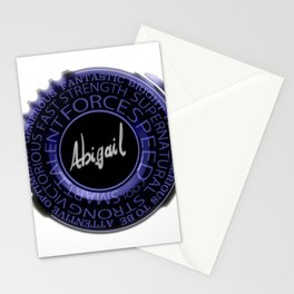 My Name is Abigail Stationery Cards