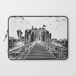 Caerphilly Castle Laptop Sleeve