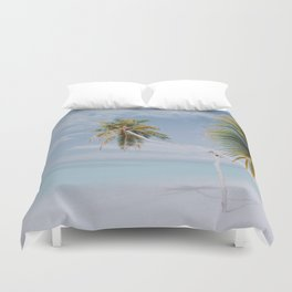 a palm tree vii Duvet Cover