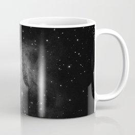 Galaxy (Black and White) Coffee Mug
