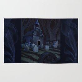 Sleepy Hollow Churchyard Cemetery Rug