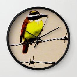 Kiskadee Wall Clock