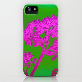 Funky Floral - JUSTART © iPhone Case