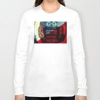 sound Long Sleeve T-shirts featuring Sound by sysneye