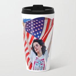 Lana Del Ray Flag Travel Mug