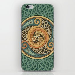 Celtic Knotwork Shield iPhone Skin