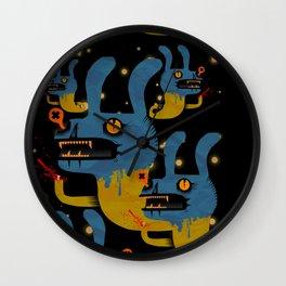 CONEJO EN LA LUNA Wall Clock