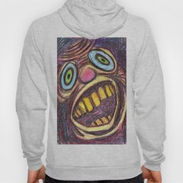 A sharp bawl in complete silence. Hoody