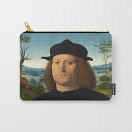 Portrait of Giovanni Cristoforo Longoni by Andrea Solario Carry-All Pouch