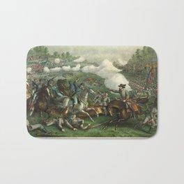 Civil War Battle of Opequan or Winchester Sept. 19th 1864 Bath Mat