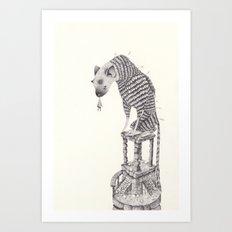 the last guardian  Art Print