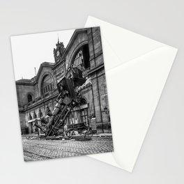 Montparnasse train derailment 1895 Stationery Cards