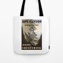 CPS: Ape Canyon, WA Tote Bag