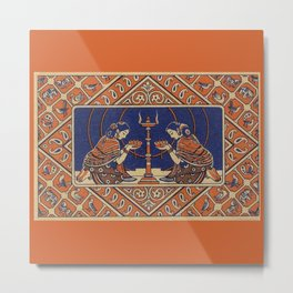 Hindu Prayer Metal Print