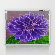 Purple Dahlia  Laptop & iPad Skin