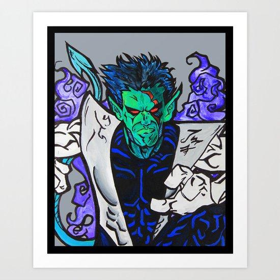 Nightcrawler Art Print