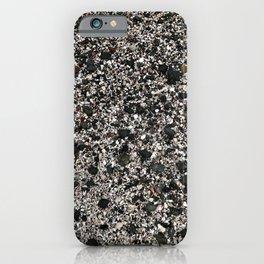 Sand & Rock Beach Texture, large iPhone Case