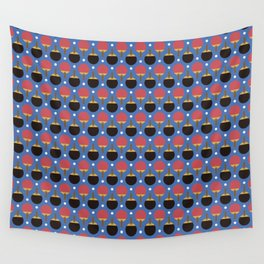Table Tennis Wall Tapestry