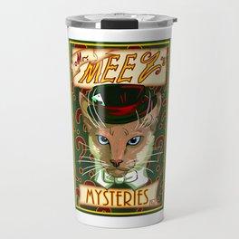 Mr. Meez's Mysteries Travel Mug