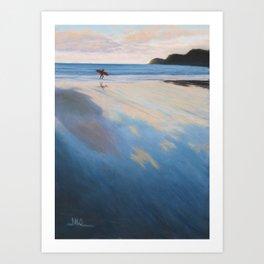 Back Tomorrow, Sand Bay Art Print
