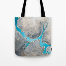 Sedimentary Topography Extended 2 Tote Bag