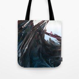 Shattered Wavez Tote Bag