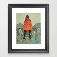 Spirits of the Lake Framed Art Print