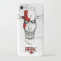 """pain iPhone & iPod Cases featuring """"Pain"""" by Pastuv"""
