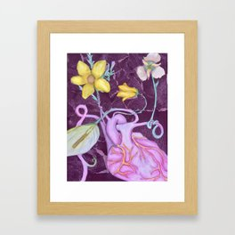 Organic Organ Framed Art Print