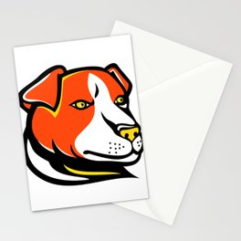 Jack Russell Terrier Mascot Stationery Cards