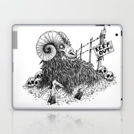 HELL'S ZODIAC - ARIES Laptop & iPad Skin