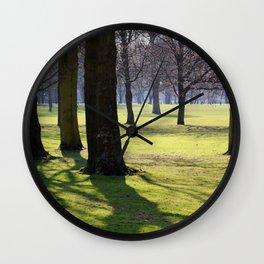 2009 - Park (High Res) Wall Clock