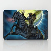 heavy metal iPad Cases featuring Heavy Metal Knights by Sandra Chang-Adair
