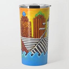 8 Bit Milwaukee Travel Mug