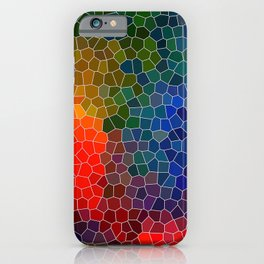 Abstract Mosaic 3 iPhone Case