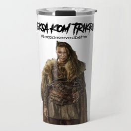 Commander Leksa kom Trikru Travel Mug