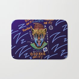 Dope Creates Monsters Raw Bath Mat