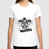 dia de los muertos T-shirts featuring Dia De Los Muertos by Digi Treats 2