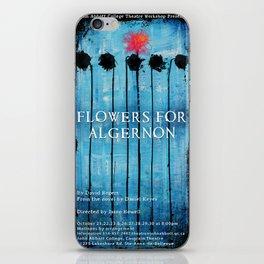 Poster for Flowers for Algernon iPhone Skin