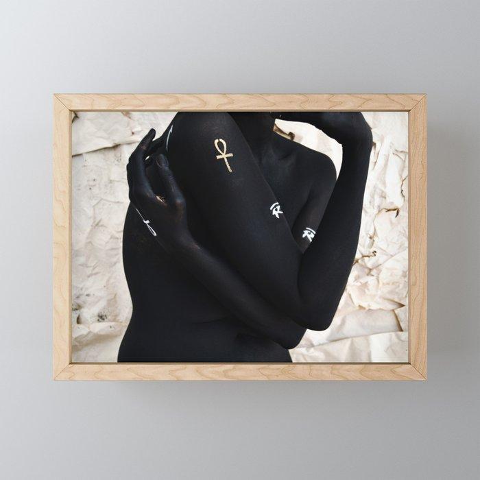 Kemet Framed Mini Art Print