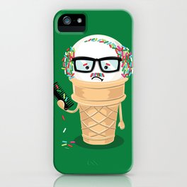 Ice Cream Coneover (Holiday Edition) iPhone Case