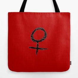 symbol of woman chalk version 11 Tote Bag