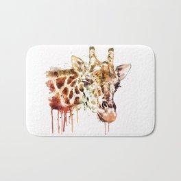 Giraffe Head Bath Mat